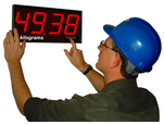 EasyReader large digit display