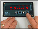 Maxi-Int4 large format digital panel meter
