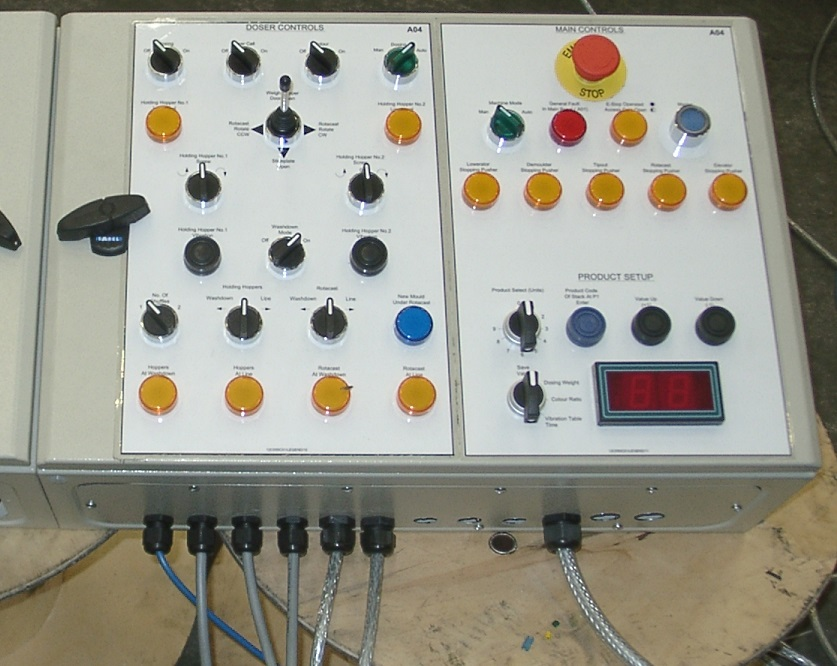 BCD-2 in control cabinet