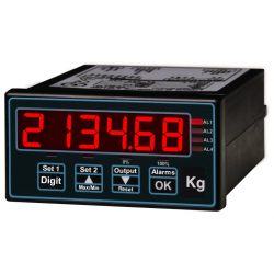INT4-L load cell input panel meter